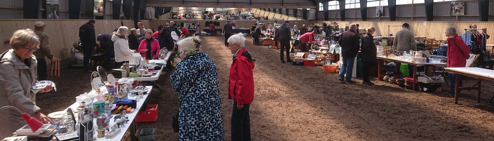 Forårsmarkedet i Kvanløse er tit et tilløbsstykke