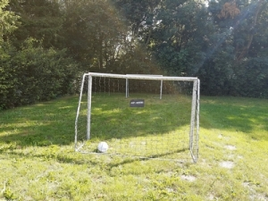 Fodboldmål på Kvanløse Aktivitetsområde
